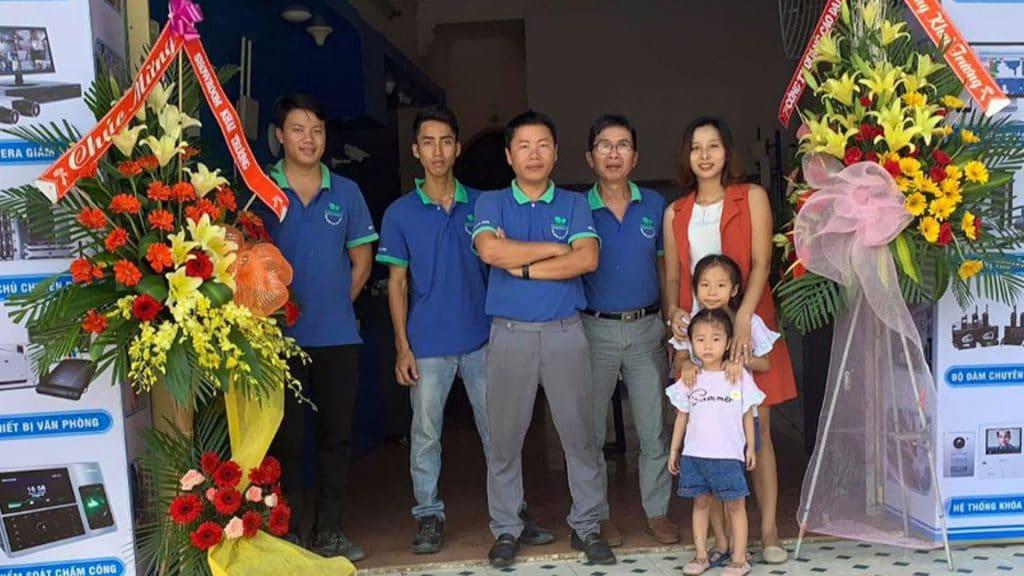 Showrroom Phú Yên Xanh tại 158A quận 12 Hồ Chí Minh