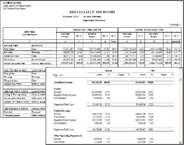 Báo cáo tài chính bởi Smile BO